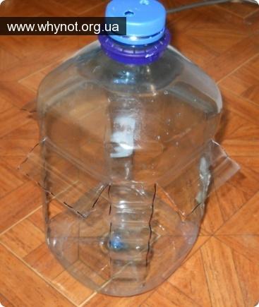 Бункерные кормушки для кроликов из пластиковых бутылок