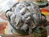 Кулинария: Бычки пересыпаные солью