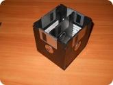 Поделки: Подставка для ручек из дискет с перегородкой