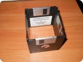 Поделки: Стороны коробочки из дискет