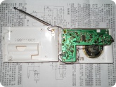 Электроника и Радиотехника: Собранная плата конструктора радио - вид сзади