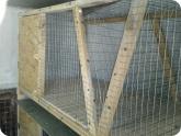 Животноводство и птицеводство: Второй ярус клетки для кроликов