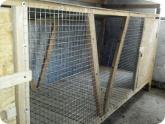 Животноводство и птицеводство: Первый ярус клетки для кроликов