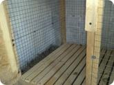 Животноводство и птицеводство: Реечный пол клетки для кроликов