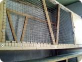 Животноводство и птицеводство: Потолок первого яруса клетки для кроликов
