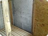 Животноводство и птицеводство: Крепление двери клетки для кроликов