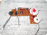 Электроника и Радиотехника: Собранная плата конструктора радио