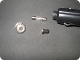 Авто и Мото: Разобранный плюсовой контакт вольтметра