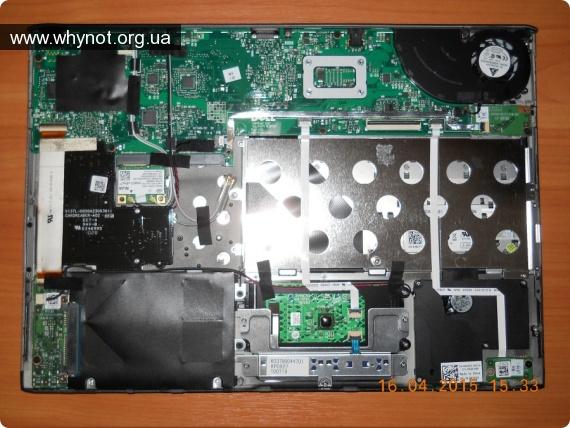 Мой опыт ремонта: Ноутбук со снятой батареей