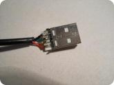 Мой опыт ремонта: USB разъем с припаянными проводами