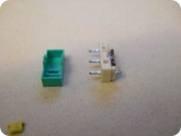 Мой опыт ремонта: Кнопка мышки разобранная