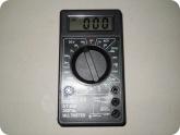 Мой опыт ремонта: Собранный мультиметр DT 838