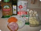 Кулинария: Ингредиенты для приготовления грибного супа