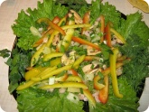 Кулинария: Салат с креветками и мидиями