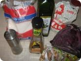 Кулинария: Ингридиенты для салата из капусты