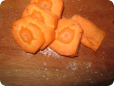 Кулинария: Порезанная морковь