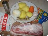 Кулинария: Ингредиенты для запеченного сала