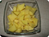 Кулинария: Картофель для супа с фрикадельками