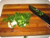 Кулинария: Режем зелень