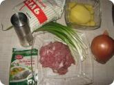 Кулинария: Ингредиенты для приготовления супа с фрикадельками