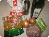 Кулинария: Ингредиенты для приготовления макарон по флотски
