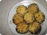 Кулинария: Готовые фаршированные грибы