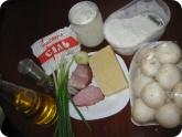 Кулинария: Ингредиенты для фаршированных грибов