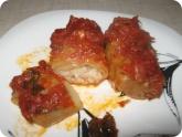 Кулинария: Готовые голубцы в духовке