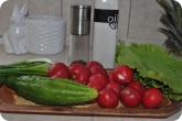 Кулинария: Ингридиенты для салата из редиски - фото