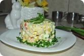 Кулинария: И еще одно фото салата с крабовыми палочками