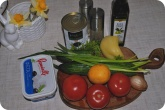 Кулинария: Ингредиенты для греческого салата - фото