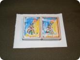 Поделки: Первый ряд коробки