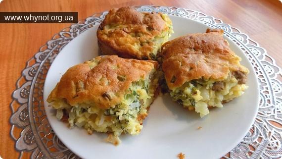 Кулинария: Заливной пирог с начинкой из капусты и фарша