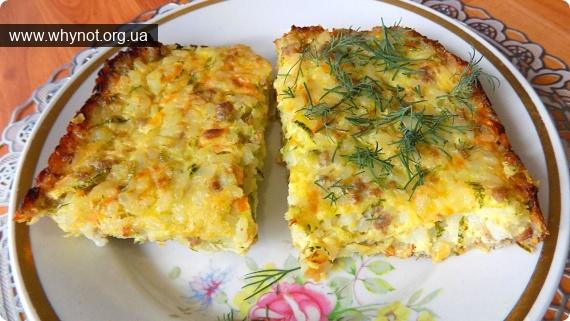 Кулинария: Рисовая запеканка с фаршем и кабачками приготовленная в духовке
